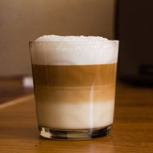 Бариста хоть куда. Coffee Caffiene Latte