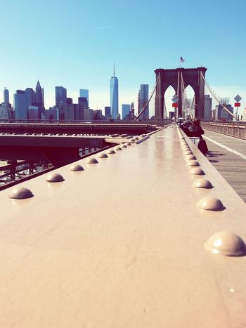 View of Manhattan from Brooklyn Bridge  Learn & Shoot: Leading Lines