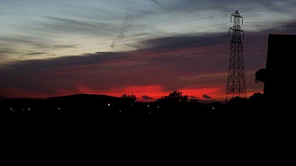 Last nights Sunset Rubyred Burntorange BedroomView Stunning_shots Sunset_collection