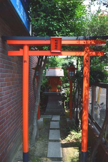A small Tori Gate in Machida Tokyo