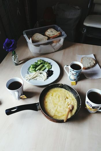 Mütevazi bir pazar kahvaltisi Breakfast Bread Darkroom Art, Drawing, Creativity Flower Tea Teamwork Eat Eating MUHLAMA