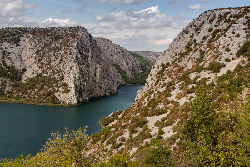 Croatia Hiking Krka National Park Landscape Nature No People Tranquility Water Waterfall