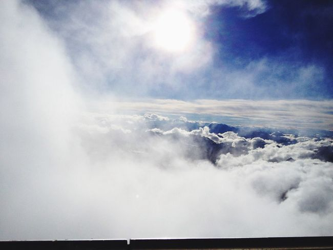 Clouds And Sky Mountains Sun Sky