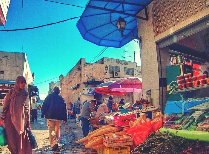 Tunisia Sousse-susah Bab Jedid Hello World Enjoying Life