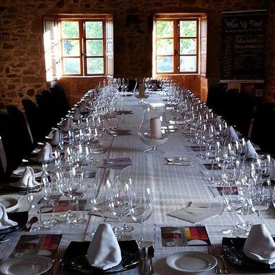 En esta Mesa Imperial celebraremos la cena del Wineuptour en PazoDeXerlis (LaEstrada )