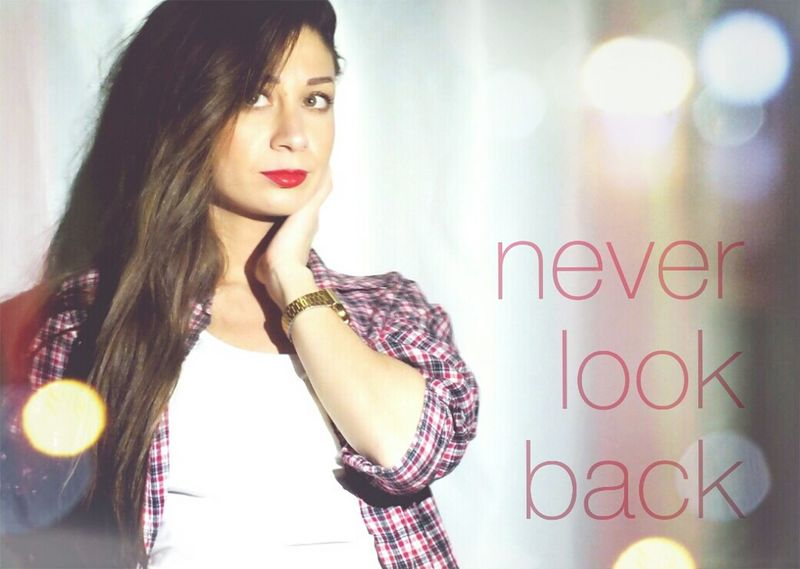 Model That's Me NeverLookBack Portrait
