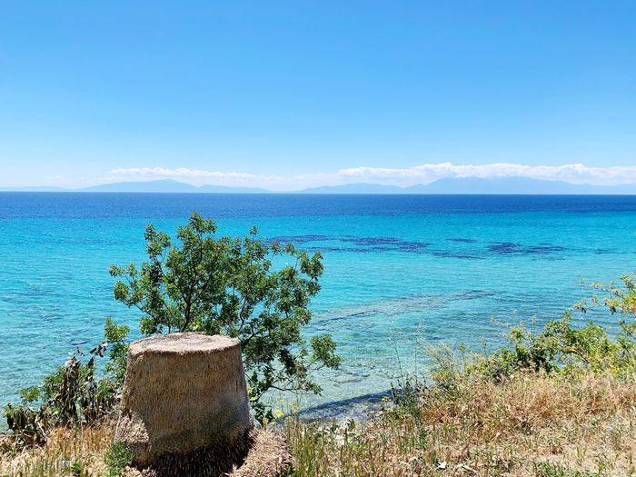 Beach view Sea