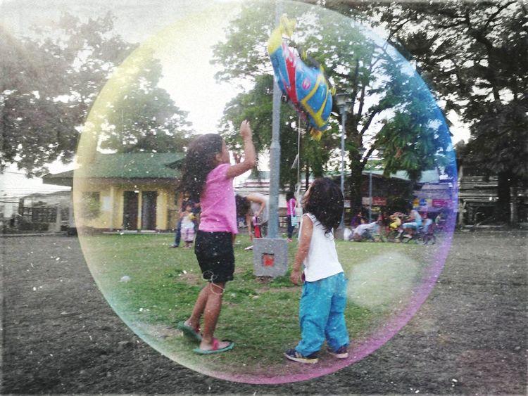 Taking Photos Enjoying Life Enjoying Life Park Balloon Plaza Siblin Cousin