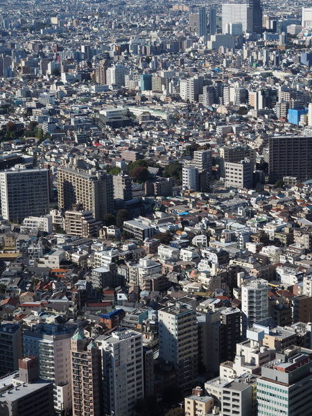 Aerial View Architecture Building Exterior City Cityscape Crowded Day Demography No People Outdoors Over Populated Population Explosion Skyscraper Tokyo Travel Destinations