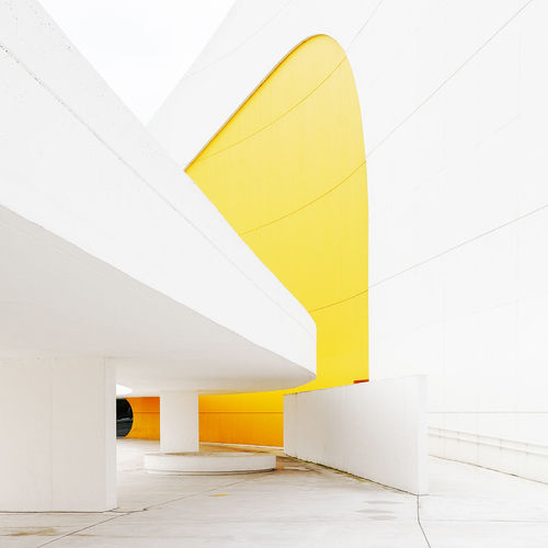 Centro Niemeyer, designed by Oscar Niemeyer Modern Architecture Built Structure