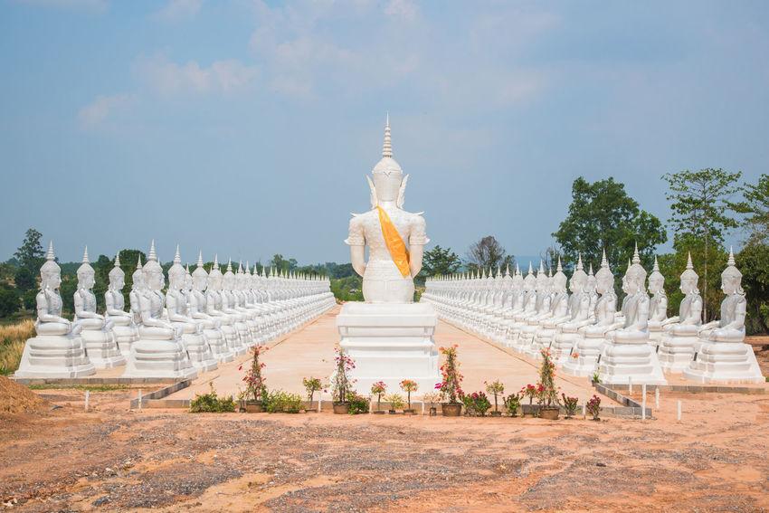 Buddha Chedi Religion Sakonnakhon SakonNakhon ,Thailand Statue Temple Temple Thailand Thailand Tourism Travel Wat Praputthabaht Namt WatPraputthabaht