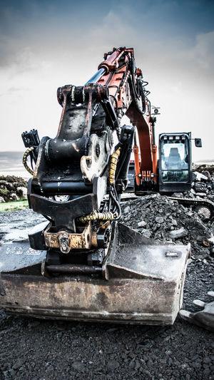 excavator at a