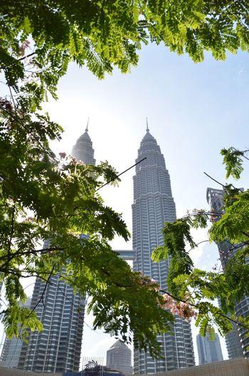 ASIA City Green Kl Kuala Lumpur Malaysia Petronas Suria KLCC Tower Towers Twin Towers