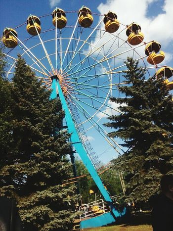 Ferriswheelinthecity🎡🎢 Sky And City Famous Place