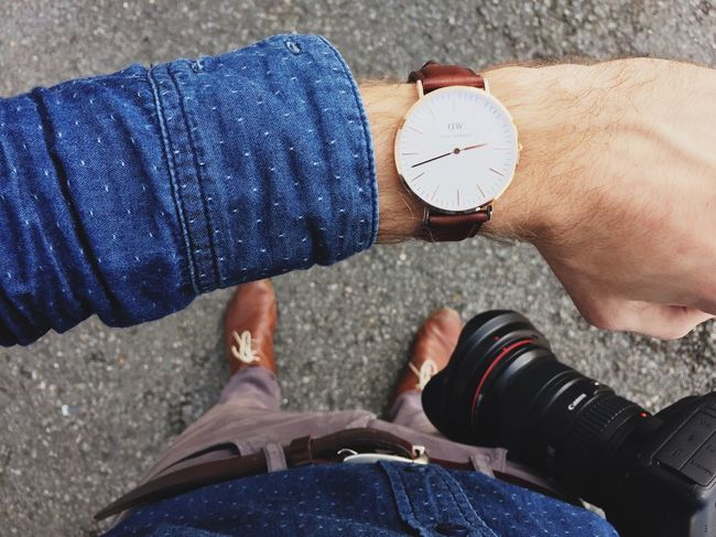 Danielwellington Watch Fashion It's Business Time Ootd Myself Menswear Style Outfit Technology I Can't Live Without