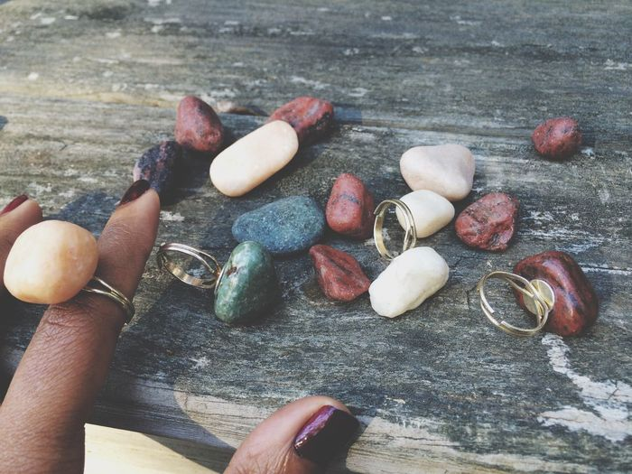 Rocks.. and then there were rings! Ksimonejewelry Rocks Rings Jewelry