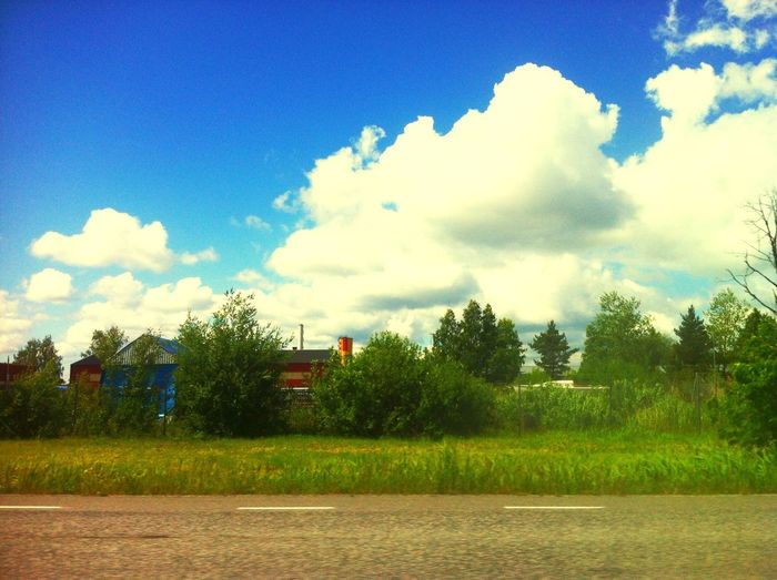 Driving home from 4 data in Sweden. No school, just fun Noschool First Eyeem Photo