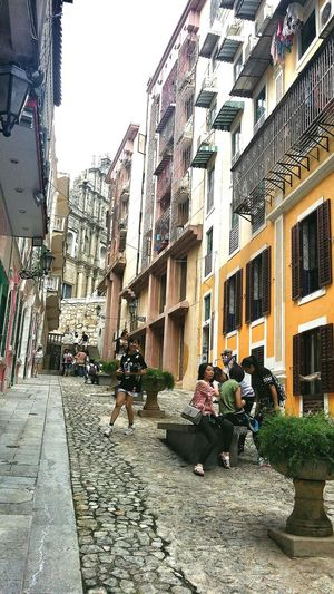 Buildings Housing Ruins Of St.Paul's Macau Architecture Travelphotography Streetphotography