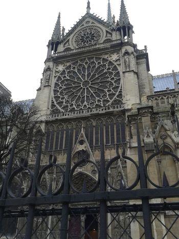 Architecture Building Exterior Built Structure Catedral City France IleDeFrance Notre Dame De Paris Notre-Dame Outdoors Paris
