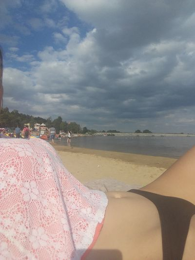Sand Beach Summer Time  Sun Bathing Water Relax Polish Girl Polish Woman Good Looking Sunny Day 🌞 Fast Shoot 😚 Come To Me