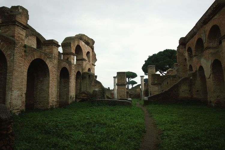 Green Nature Green Grass Ancient History Ancient Ancient Rome Ancient Ruins Ruins_photography Ruins Architecture_collection Architecture Architectural Detail Overcast Cloudy Brick Building Ancient Civilization Old Ruin Ancient History Arch Architecture Building Exterior Ancient History Archaeology Civilization Ancient Rome Roman