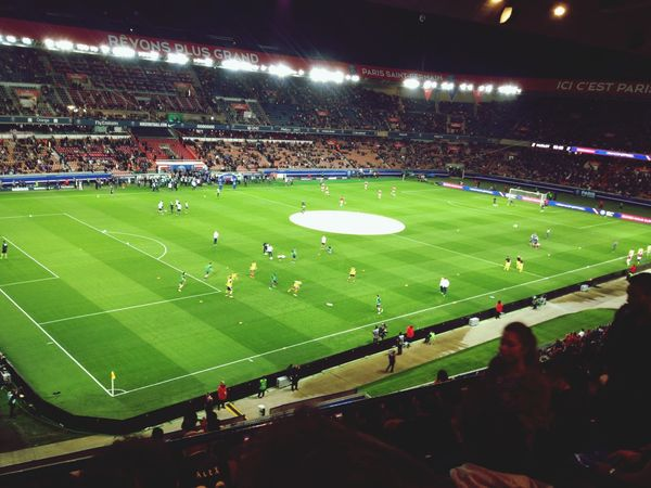 Paris ❤ PSG  Stadium Soccer Football Team Championsleague Evening Parcdesprinces