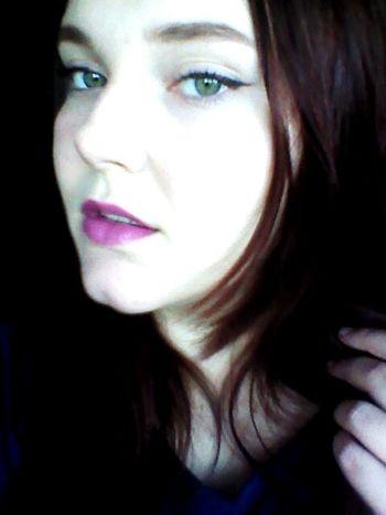 Girl Hier Sweet Hi Lips Hi! Sweet Lips Beautiful Beauty Eyes Green Eyes Hello World Pink Lips Lovelovelove Love <3