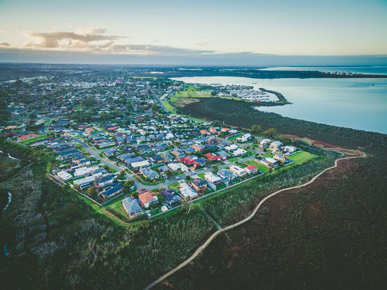 Aerial view of Hastings suburb and Westernport Marina at dusk. Melbourne, Australia Australia Colors Aerial View Architecture Beauty In Nature Building Exterior Built Structure City Cityscape Cloud - Sky Dawn Day Dusk High Angle View Horizon Over Water Landscape Melbourne Nature No People Outdoors Residential  Scenics Sea Sky Sunrise Sunset Town Tree Water Westernport