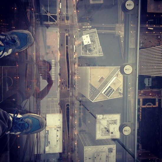 Standing on Glass Reflections Willistower Sohigh Discover Berlin