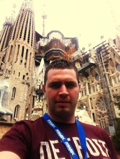 Segrada Familia Cathedral Ispanya Barça Summer 2015  Selfportrait Selfie ✌ Selfies 🇪🇸