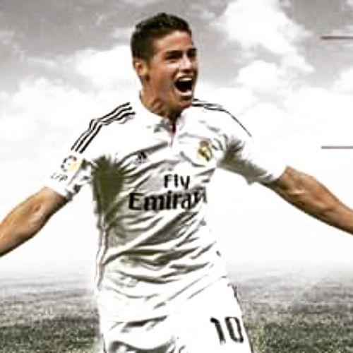 2nd goal by Rodriguez Rma Realmadrid Real Madrid Halamadrid Fans FAB Favourite Best  Players Malaga Rodriguez James 9 18 Goal Göl