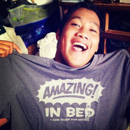 Lol! Of course my brother would get this shirt for Christmas. Jokes!