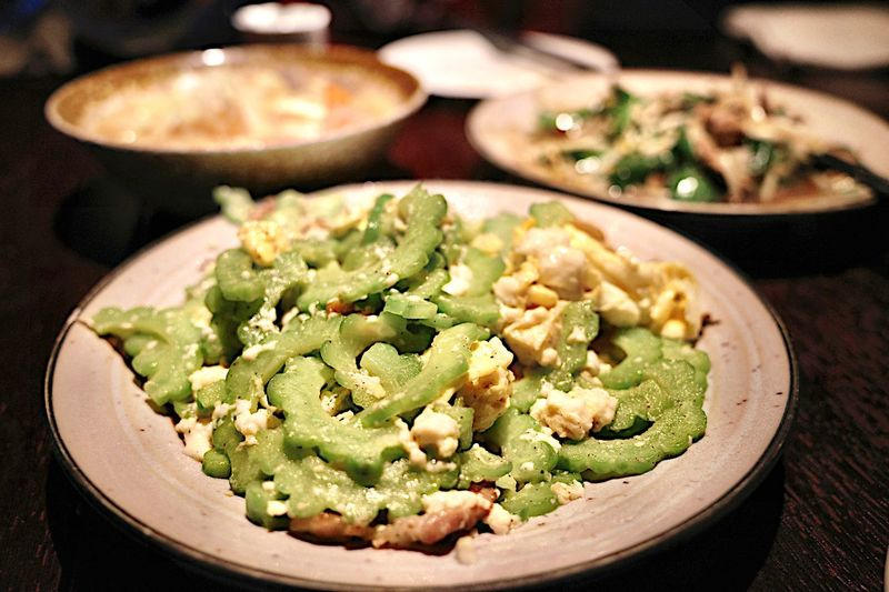 Shanghai Ricoh GRlll Close-up No People Ready-to-eat Serving Size Asian Food Still Life Meal Plate Freshness Food And Drink Food Indoors  Healthy Eating Wellbeing Vegetable Bowl Focus On Foreground Healthy Lifestyle High Angle View Table