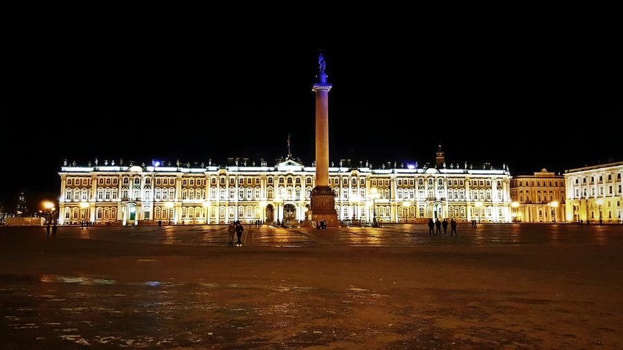 Night Photography Nightphotography Russia St. Petersburg, Russia St. Petersburg Night Illuminated Built Structure Architecture Outdoors Hermitage Museum Hermitage, St. Petersburg Alexander Column Palace Square Imperial Palace Winter Palace Politics And Government Architectural Column Statue History Tourism Monument Travel Destinations Nightshot