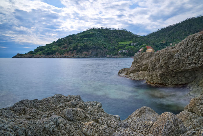 Bonassola coast - Ligurian sea - Long exposure Bonassola Formation Mediterranean  Rock Wave Bay Beauty In Nature Cloud - Sky Coast Day Land Liguria Long Exposure Nature No People Outdoors Rock Rock - Object Scenics - Nature Sea Sky Solid Tranquil Scene Tranquility Water
