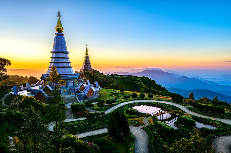 Landmark pagoda