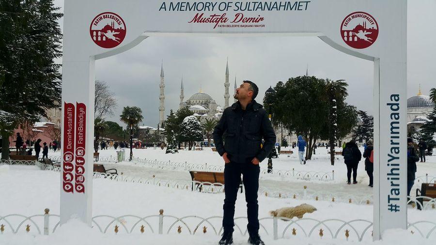 Istanbul Turkey Snow Kar Hello World Türkiye