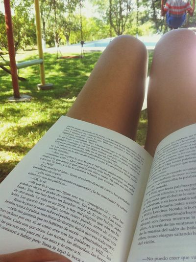 Spring time. Enjoying Life Reading Spring Relaxing