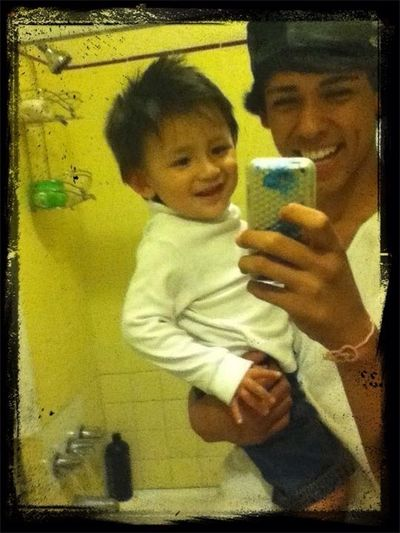 woah this is old /.\ i miss this nigga he picked me instead of his dad woot woot