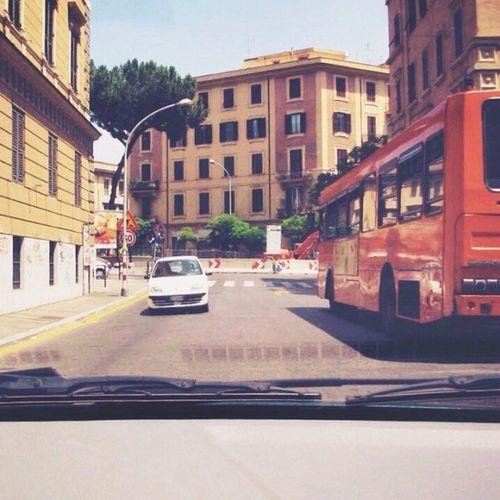 Mayday mayday... TBT  Italy Rome Italiandriving scary sangiovanni fun Roma Italia throwbackthursday