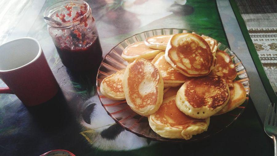 Cooked me pankaces)Very tasty!😋