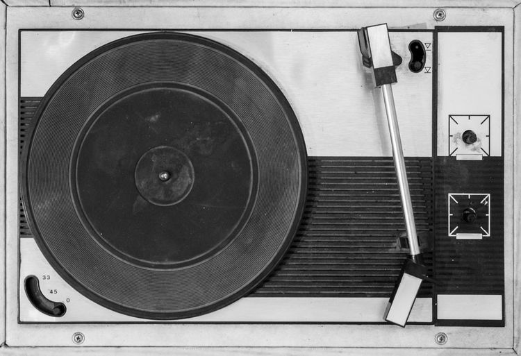 60s Analog Analogous Antique Audio Background Black And White Concept Disc Entertainment Equipment Gramophone Gray Grunge Music Object Obsolete Old Party Plastic Player Record Record Player Retro Revival Sound Style Technology Vintage Vinyl