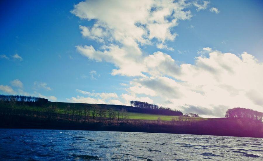 Bluesky Clouds Springtime Sun Sunday Windy