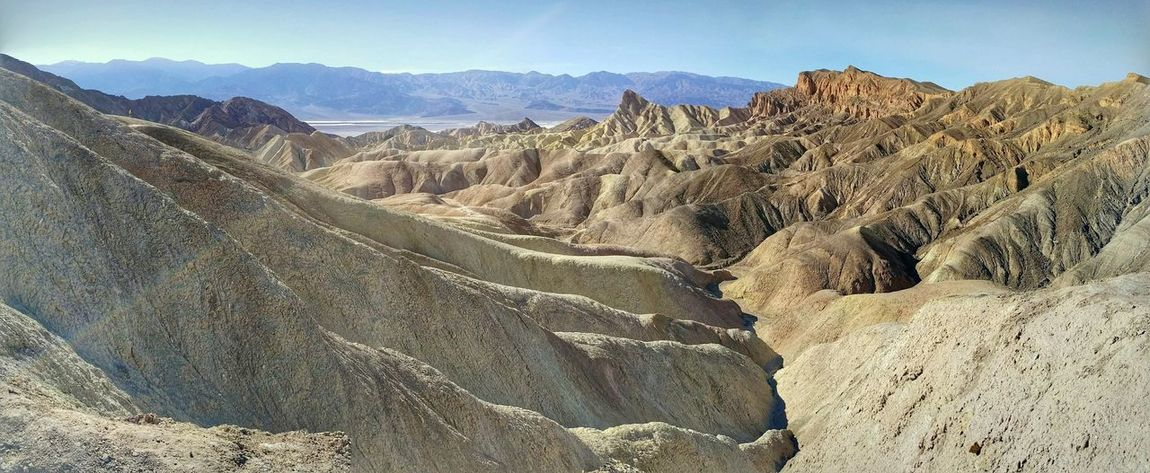 Death Valley National Park Zabriskie Point California Nature California Travel Traveling Holiday Scenic View Mountains