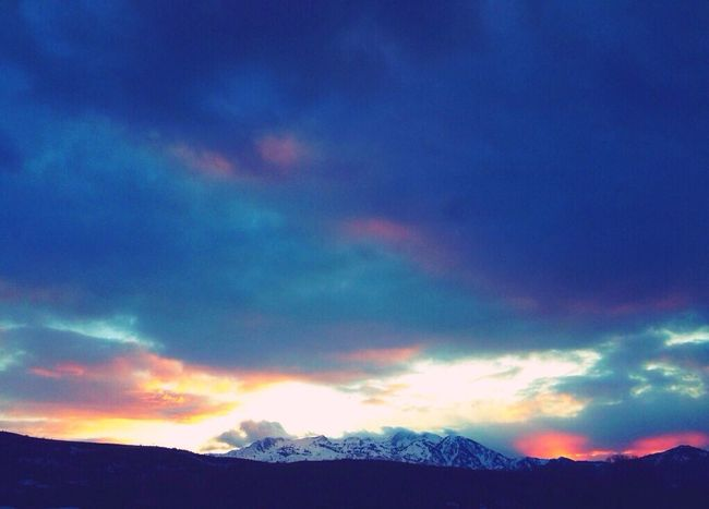 Surrounded by beauty... Sunset Snowbasin