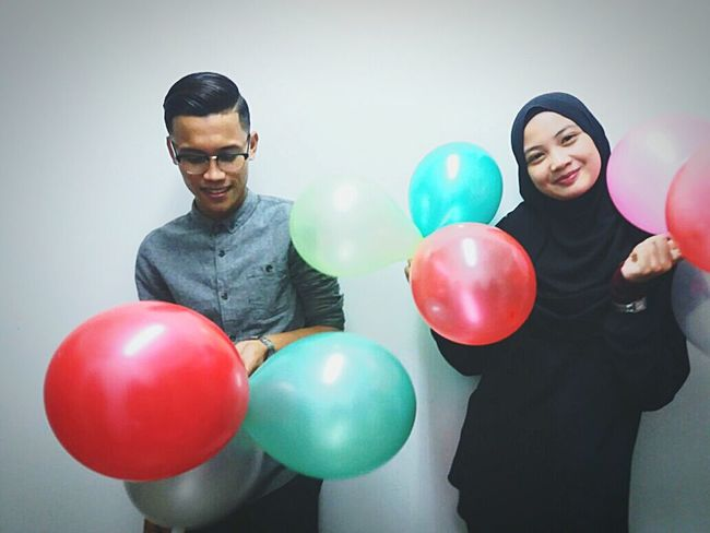 Studentnurses Justfriends♥ Balloon Two People Smiling JustShare :D