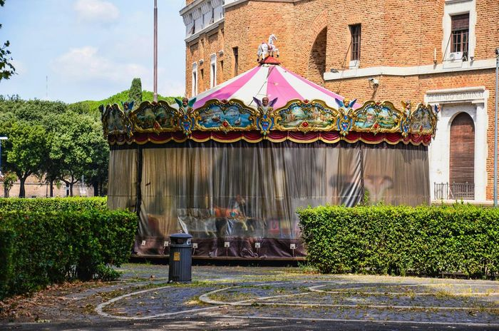 Carousel Beautiful Carousel Riding The Carousel Giostra Streetphotography Rome Romestreets Urbanphotography Eyem Best Shots Urbanexploration