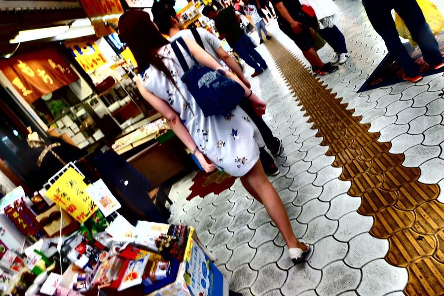 The Portraitist - 2017 EyeEm Awards The Street Photographer - 2017 EyeEm Awards Okinawa Naha 牧志 Low Section Real People City Life Crowd Young Adult Market Walking Around Rear View Women Snapshot Snap Snapshots Of Life Iphonephotography Trip Photo Traveling Live For The Story EyeEmNewHere Photooftheday Photogenic  Earlysummer