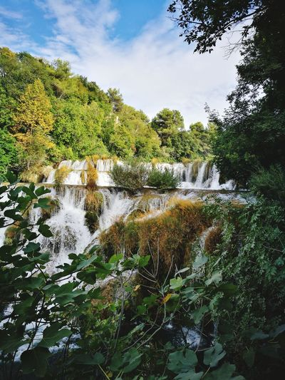 Nature Beauty In Nature Krka National Park Watterfalls