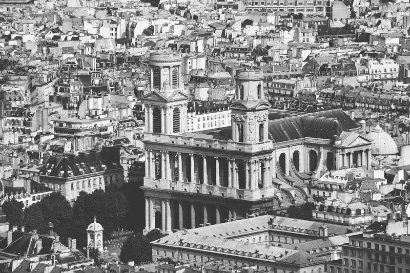 Cityscape Seen Through Tour Montparnasse